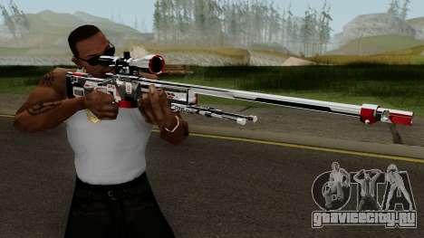 AWP TiiTree для GTA San Andreas третий скриншот