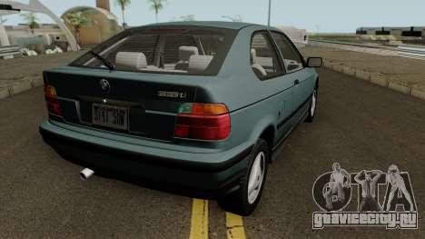 BMW 3-Series e36 Compact 318ti 1995 (US-Spec) для GTA San Andreas вид справа