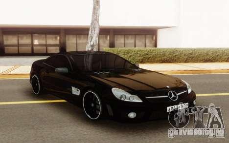Mercedes-Benz SL63 AMG для GTA San Andreas