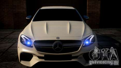 Mercedes-Benz E63S AMG для GTA 4
