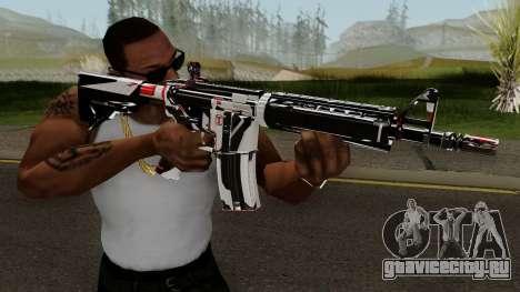 M4A4 TiiTree для GTA San Andreas третий скриншот