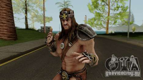 Triple H (King of Kings) from WWE Immortals для GTA San Andreas
