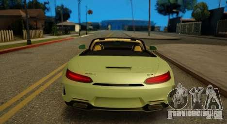 Mercedes-Benz GT-C для GTA San Andreas вид сзади