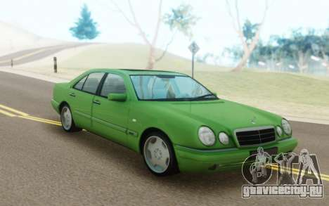 Mercedes-Benz E55 W210 Green для GTA San Andreas