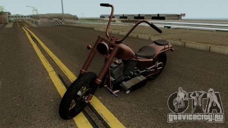 Western Motorcycle Daemon GTA V HQ для GTA San Andreas