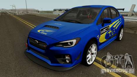 Subaru WRX STI 2016 для GTA San Andreas колёса