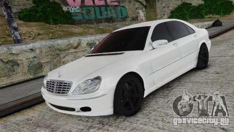 Mercedes-Benz S600 для GTA 4
