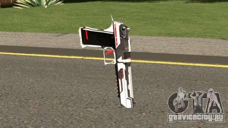 Desert Eagle TiiTree для GTA San Andreas второй скриншот