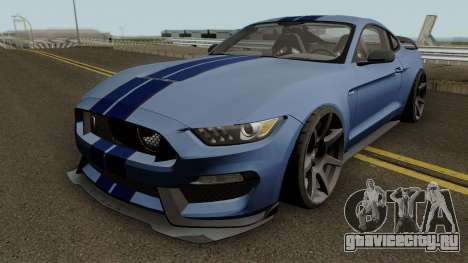 Ford Mustang Shelby GT350R 2016 HQ для GTA San Andreas