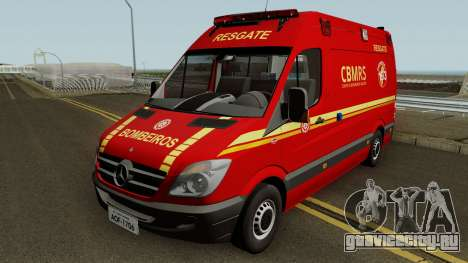 Mercedes-Benz Sprinter Ambulance (CBMRS) для GTA San Andreas