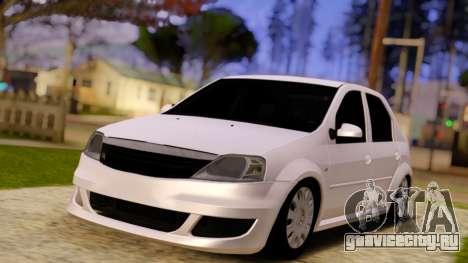 Renault Logan Widebody для GTA San Andreas