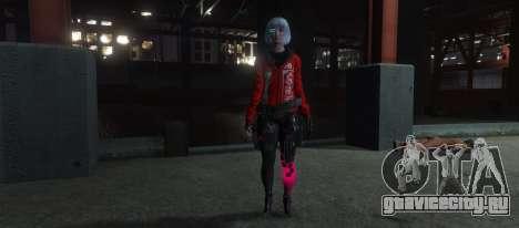 Cyberpunk Custom Female Ped для GTA 5