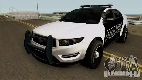 Ford Taurus Police (Interceptor style) 2012 для GTA San Andreas