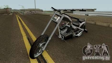 Diabolus de GTA 4 EFLC con Texturas Arregladas для GTA San Andreas