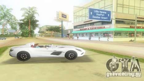 2008 Мерседес-Бенц СЛР мох для GTA Vice City