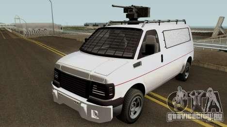 Vapid Speedo Custom And Armored GTA V IVF для GTA San Andreas