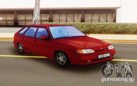 ВАЗ 2114 Заниженный для GTA San Andreas