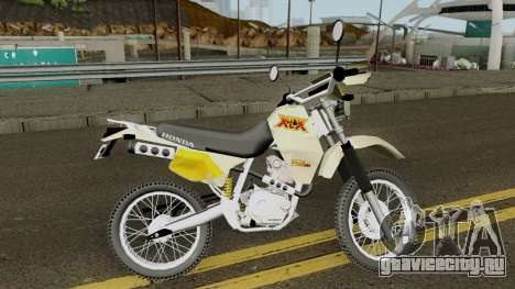Honda XLX 350R для GTA San Andreas