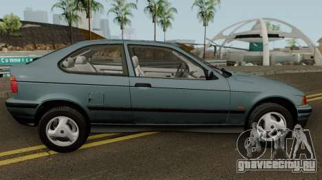 BMW 3-Series e36 Compact 318ti 1995 (US-Spec) для GTA San Andreas вид сзади
