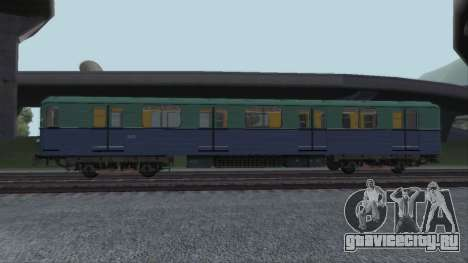 Вагон типа Е 81-703 Reboot для GTA San Andreas