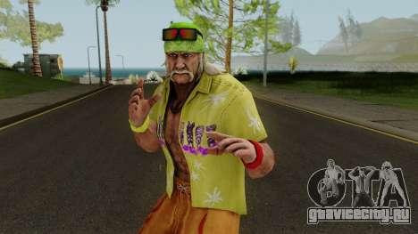 Hulk Hogan (Beach Basher) from WWE Immortals для GTA San Andreas