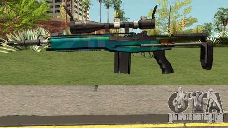 Rainbow Sniper Rifle для GTA San Andreas