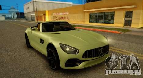 Mercedes-Benz GT-C для GTA San Andreas вид сзади слева