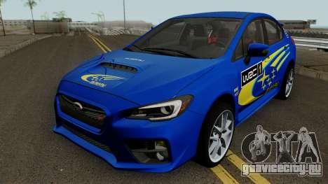 Subaru WRX STI 2016 для GTA San Andreas салон