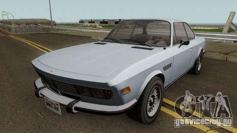 Ubermacht Zion Classic GTA V для GTA San Andreas