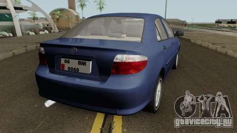 Toyota Corolla Vitz 1.6 для GTA San Andreas