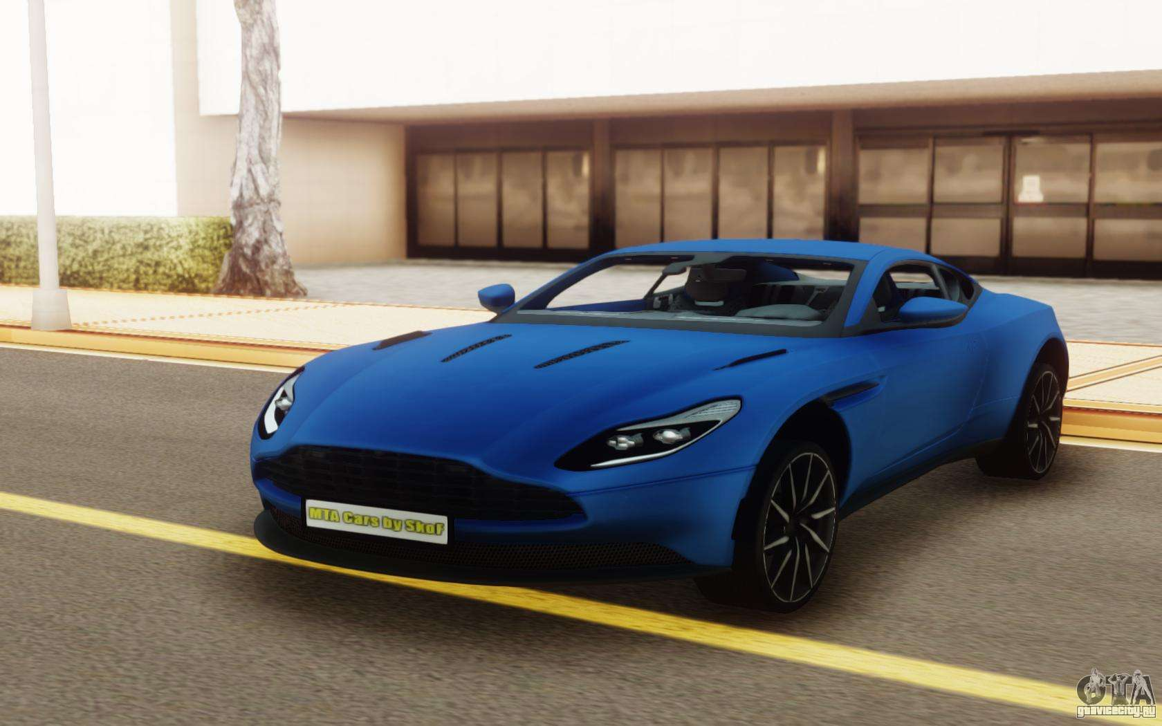 aston martin db11 coupe для gta san andreas