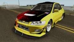 Mitsubishi Lancer Driftz EVO для GTA San Andreas