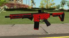 New Assault Rifle (Red) для GTA San Andreas