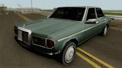 Admiral (Mercedes-Benz 280E Style) Low Poly для GTA San Andreas