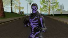 Purple Skull Trooper Style Fortnite