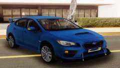 Subaru Impreza WRX STI Sedan Blue для GTA San Andreas