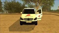 Mercedes Vito CTT - Portuguese Mail Van для GTA San Andreas