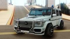 Mercedes-Benz G65 AMG Tuning для GTA San Andreas