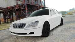 Mercedes-Benz S600 White для GTA 4