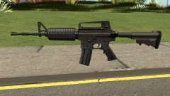M4A1 Black High Quality для GTA San Andreas