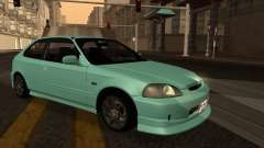 Honda Civic Olive Green для GTA San Andreas