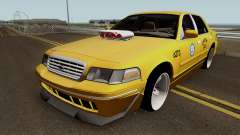Ford Crown Victoria New York Taxi (Taxi Movie) для GTA San Andreas