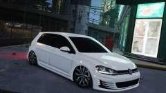 Volkswagen Golf White для GTA 4