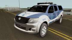 Toyota Hilux SRV 2016 DEAM COORPIN для GTA San Andreas