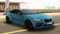 BMW M2 Blue для GTA San Andreas