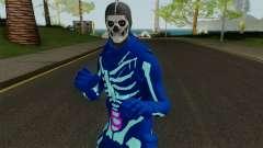 FORTNITE - Galaxy Skull Trooper для GTA San Andreas