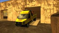 Volkswagen Crafter Portuguese Towtruck для GTA San Andreas