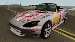 Honda S2000 Akari Yuru Yuri для GTA San Andreas