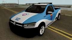 Volkswagen Saveiro G7 ROBUST PMBA Ronda Escolar для GTA San Andreas