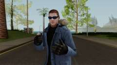 Captain Cold (Wentworth Miller) From IJ2 для GTA San Andreas